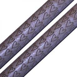 Engraved Drumsticks - Hearts